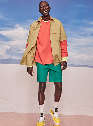 Brightly-coloured short