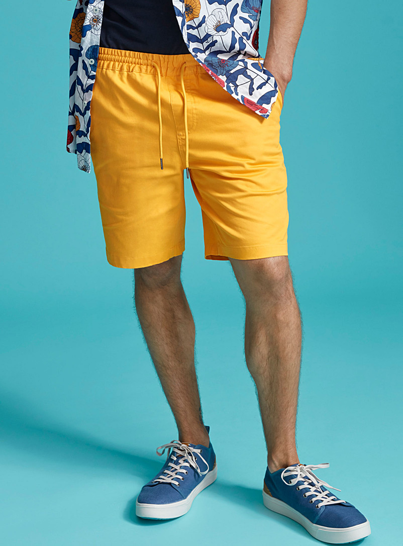 Bright colour short - Shorts - Medium Yellow
