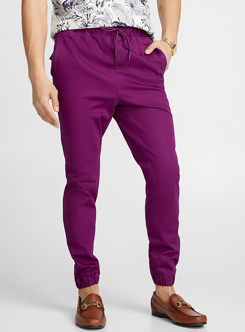 Le jogger toile extensible - Joggers