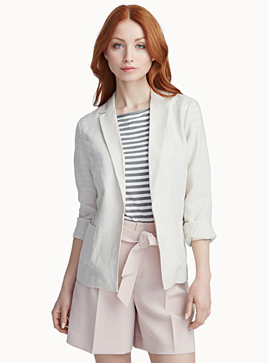 Light linen blazer