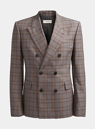 Dries Van Noten Grey Berendty blazer for men