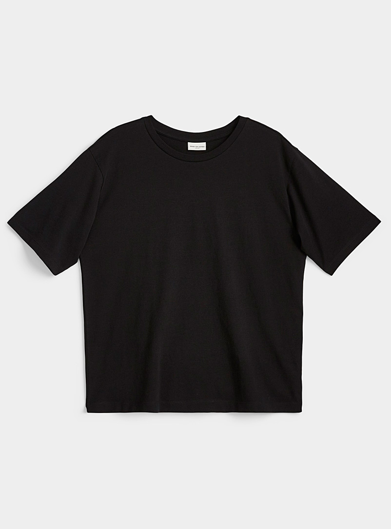 Dries Van Noten Black Casual T-shirt for women