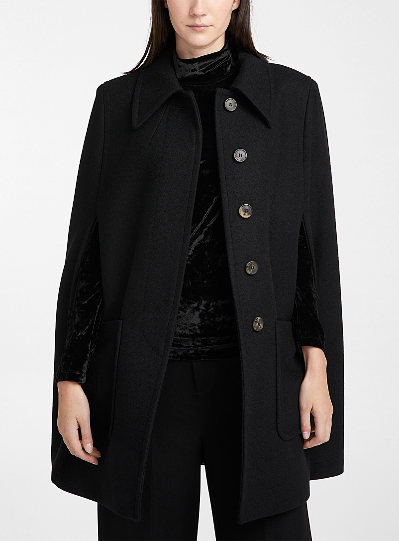Rebel cape coat