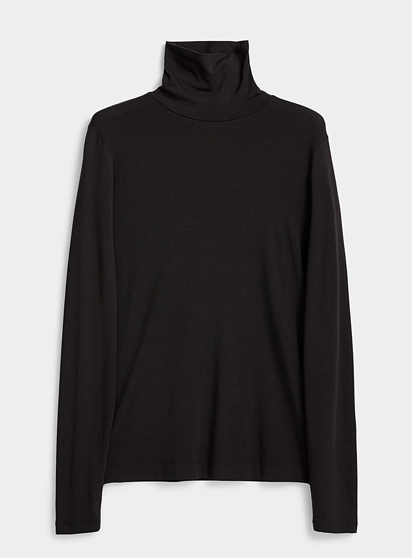 Dries Van Noten Black Haskee turtleneck for women
