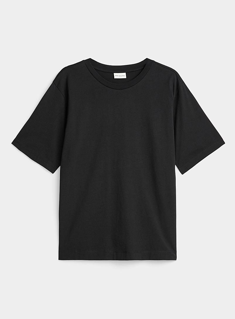 Dries Van Noten Black Relaxed fit tee for women