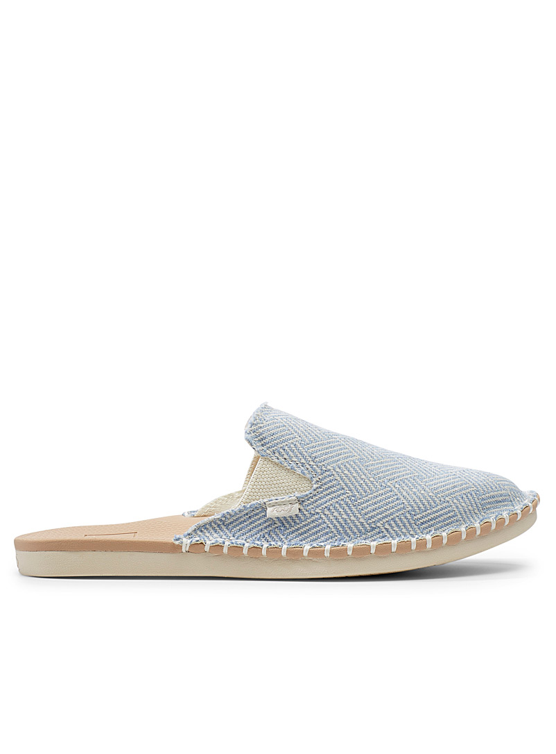 Reef Baby Blue Escape blue mules for women