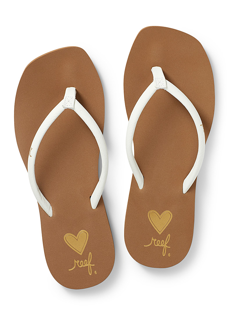 Reef White Seas flip-flops for women