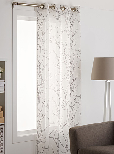 Fall branches voile curtain  135 x 220 cm