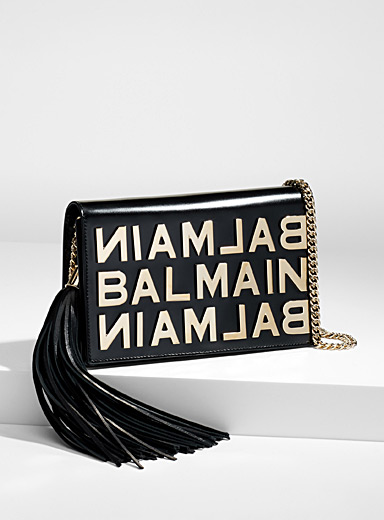 Golden lettering clutch