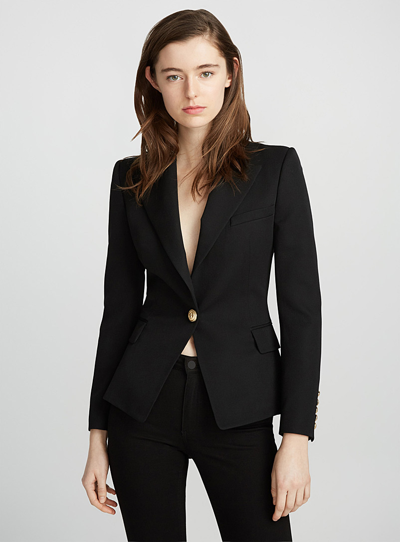 gold-button-fitted-blazer