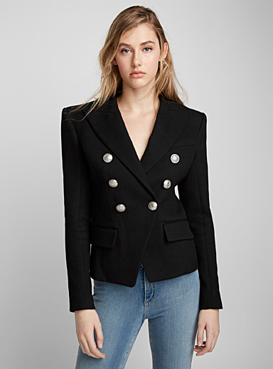 Textured iconic jacket