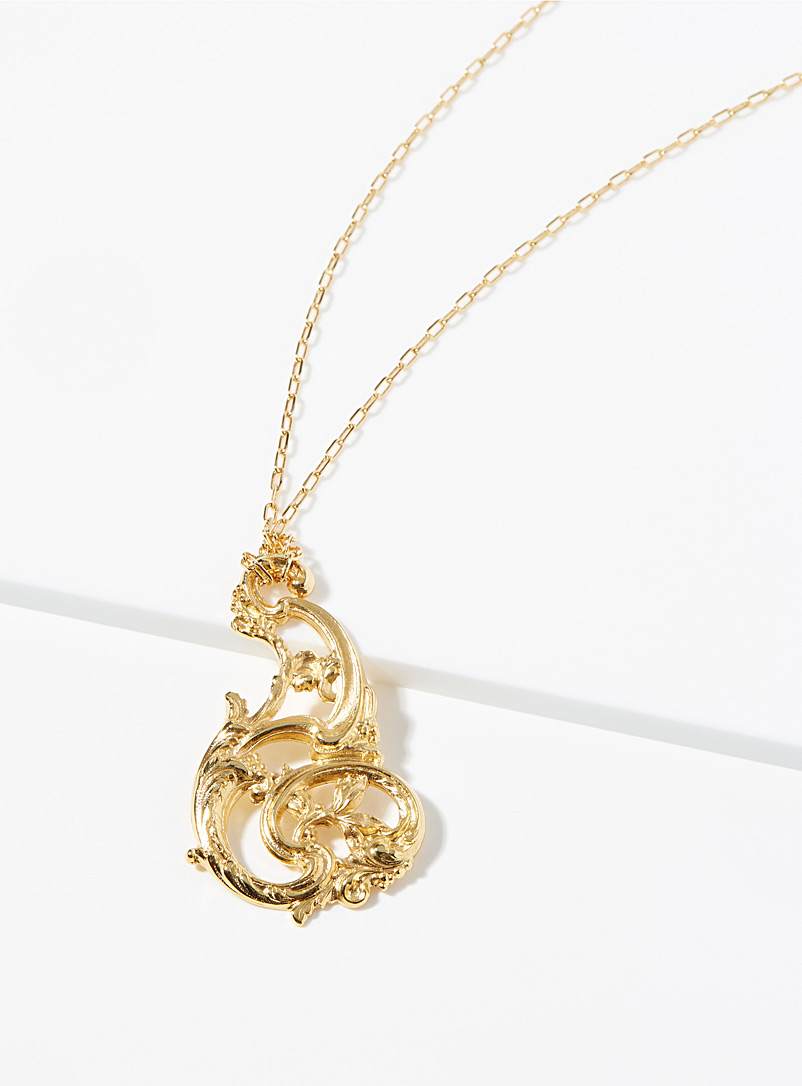Le collier arabesques d'or
