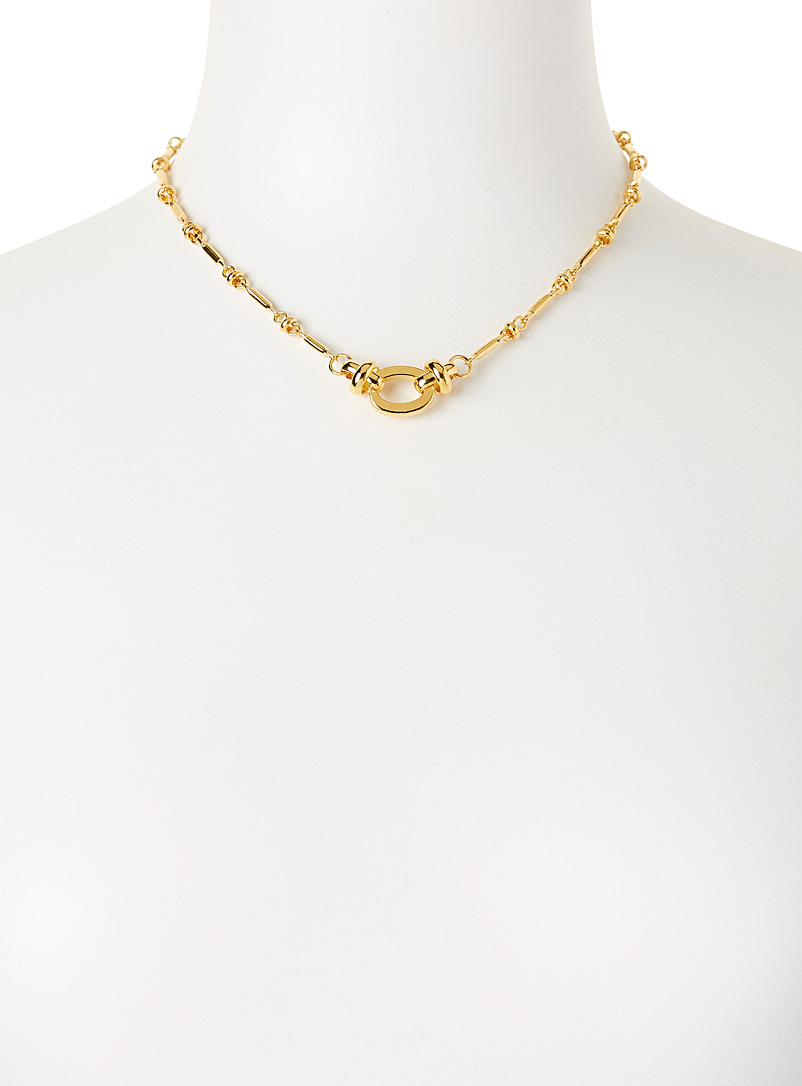 Eva Krystal Assorted Bar chain necklace for women