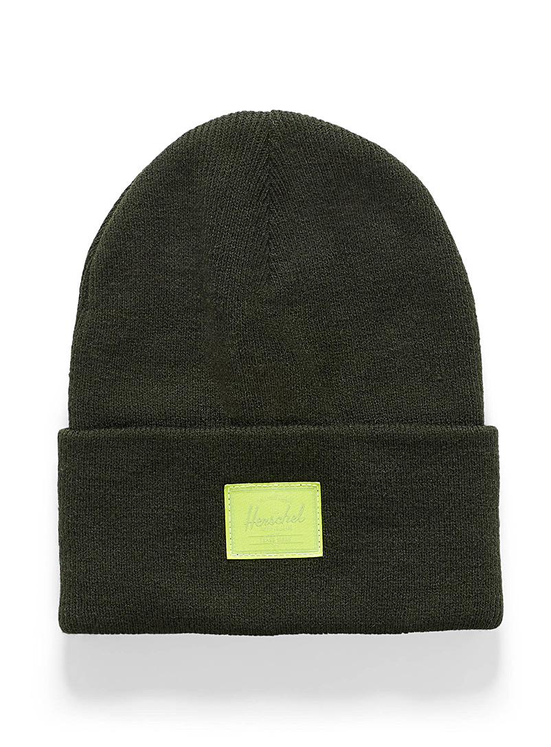Heathered Abbott beanie - Tuques & Berets - Bottle Green