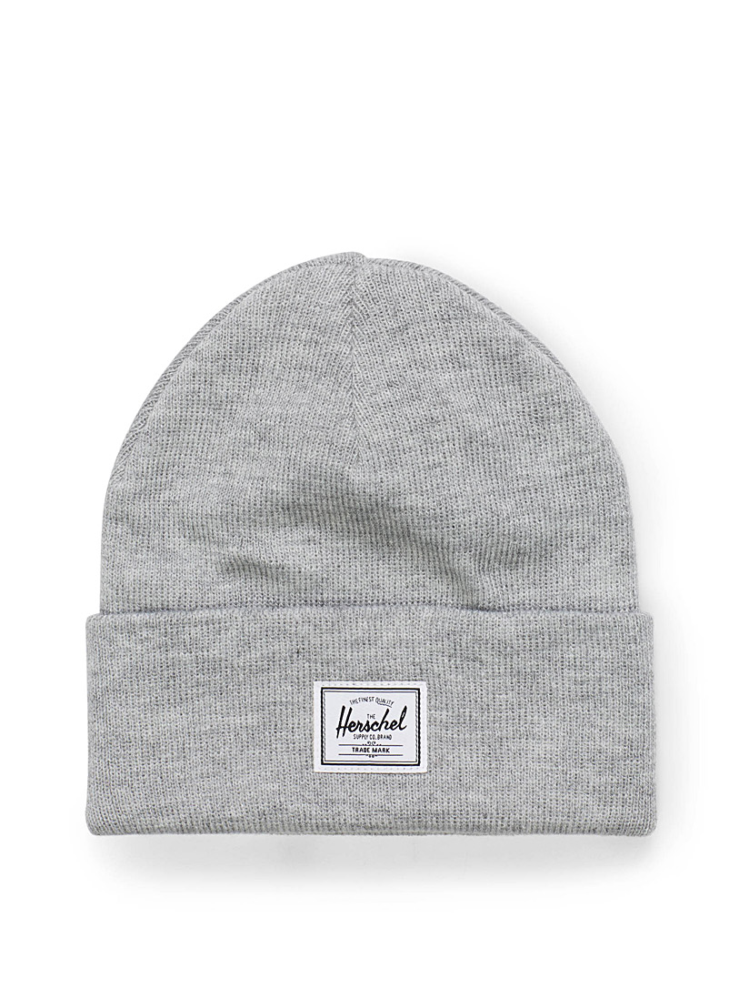 Heathered Abbott beanie - Tuques & Berets - Light Grey