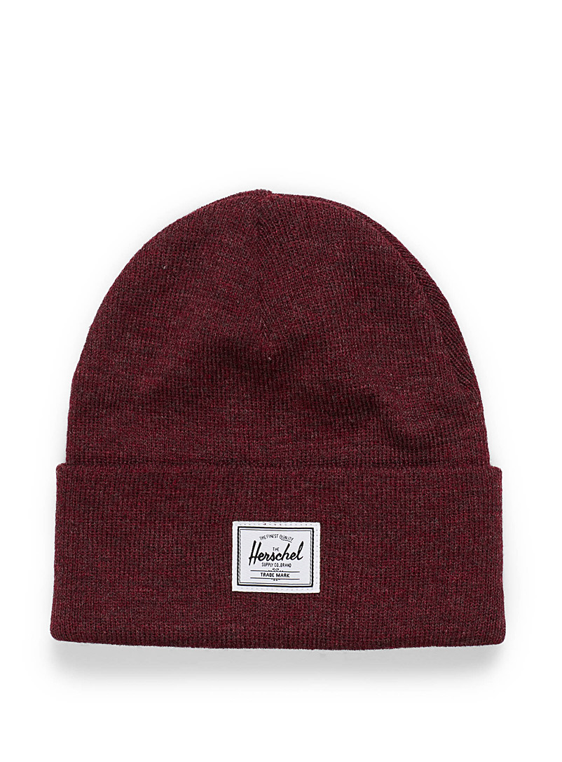 Heathered Abbott beanie - Tuques & Berets - Ruby Red
