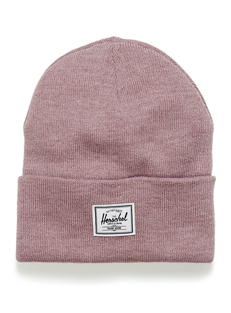 Heathered Abbott beanie - Tuques & Berets - Dusky Pink