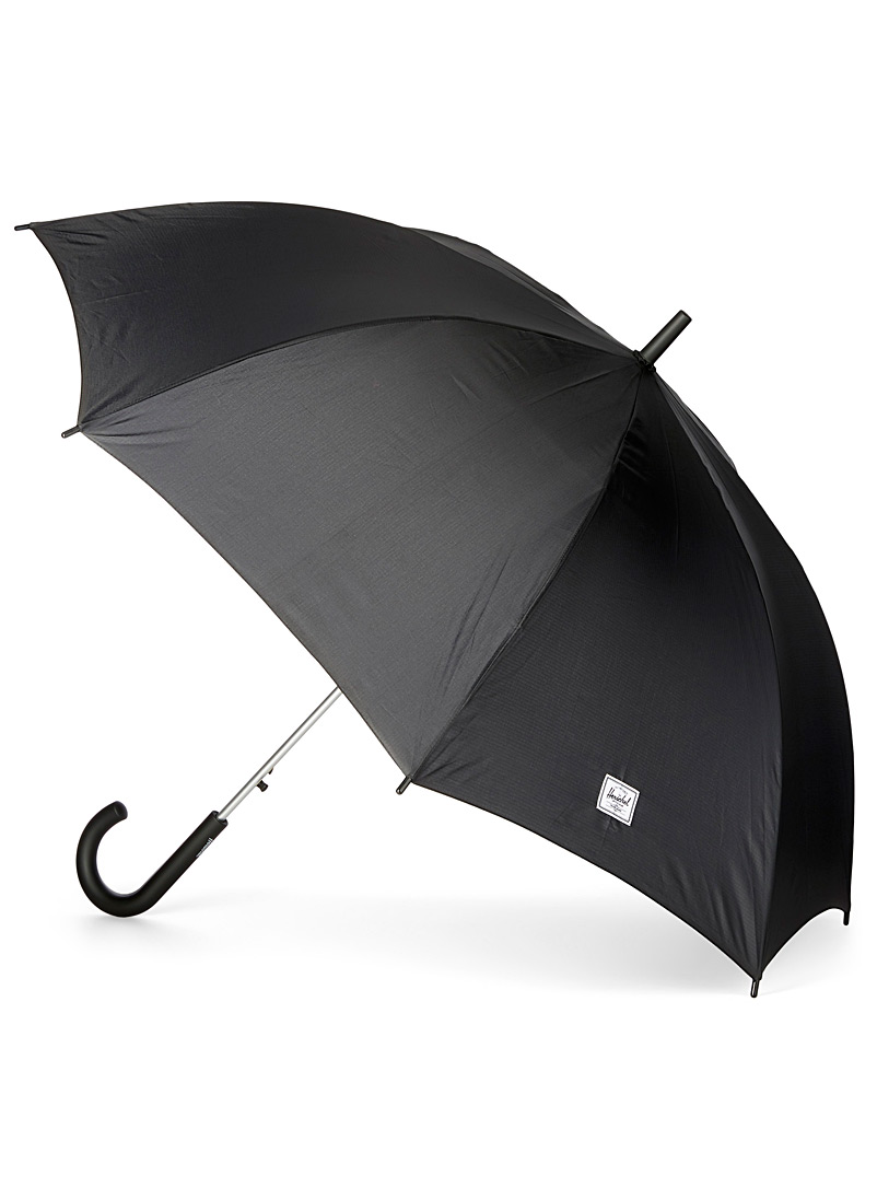 Herschel Black Voyage umbrella for women