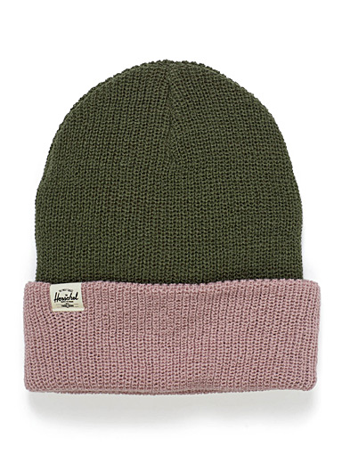 Quartz cuffed tuque
