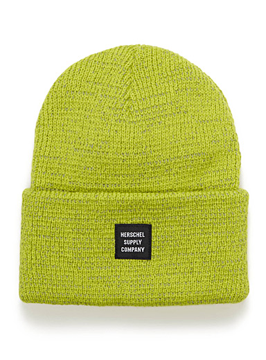 Abbott reflective-thread cuffed tuque