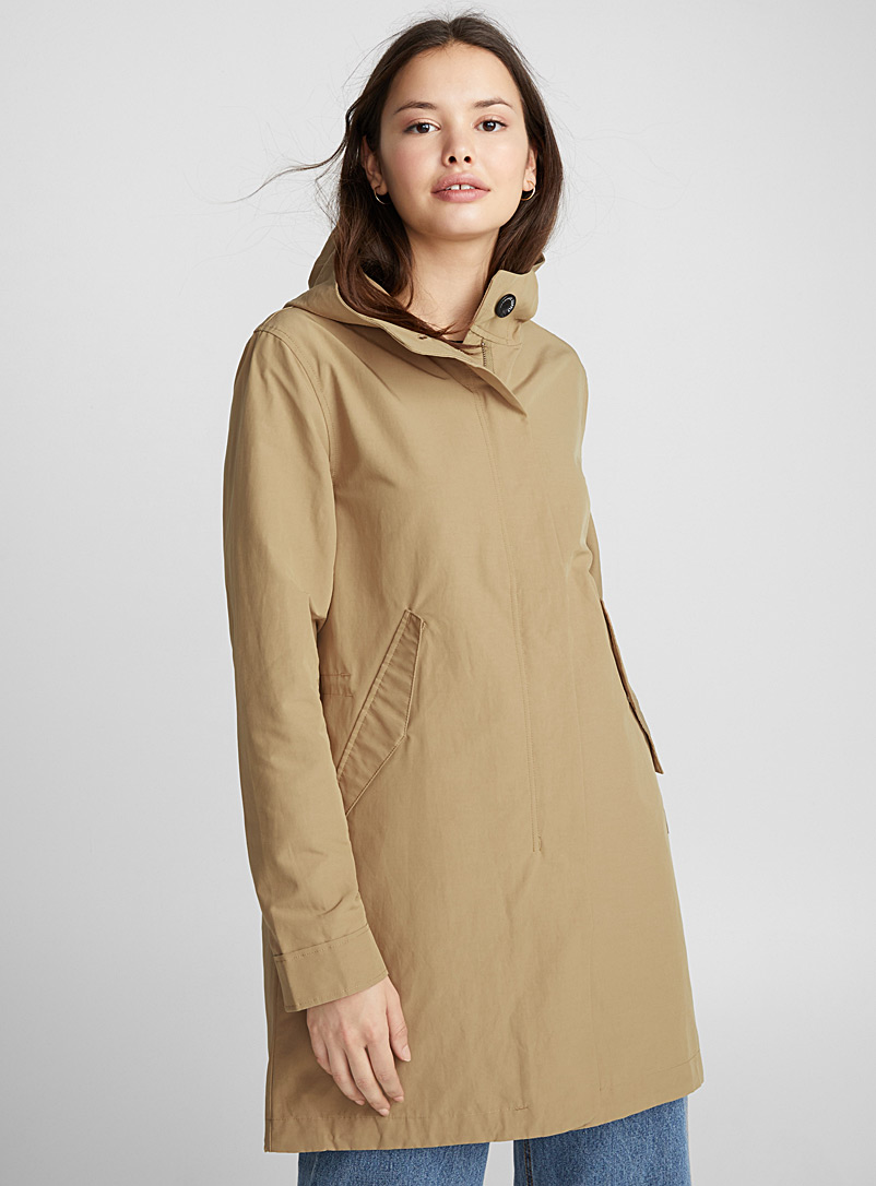 Fishtail parka - Raincoats - Light Brown