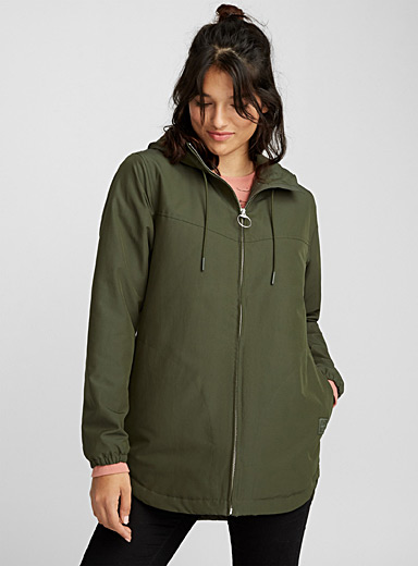 Insulated hooded parka