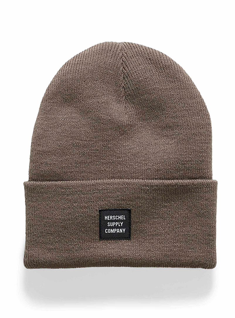 Abbott monochrome tuque - Tuques - Light Brown