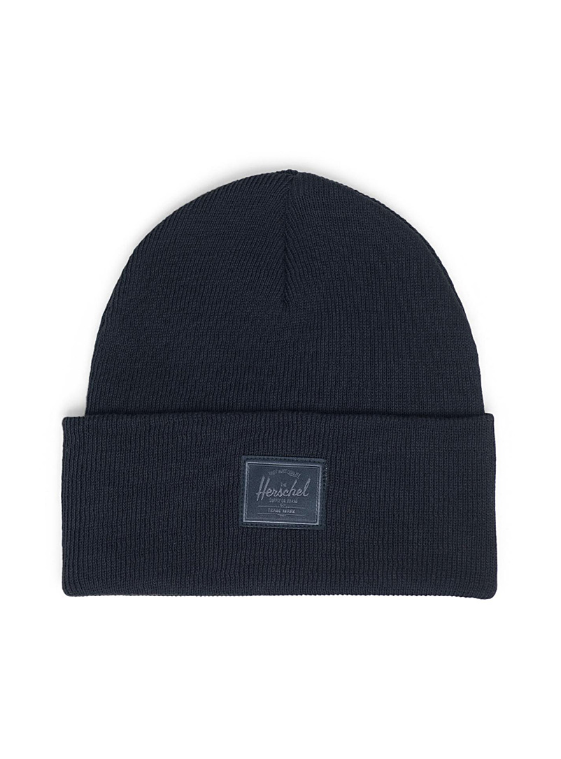 Elmer Light sewn-logo tuque