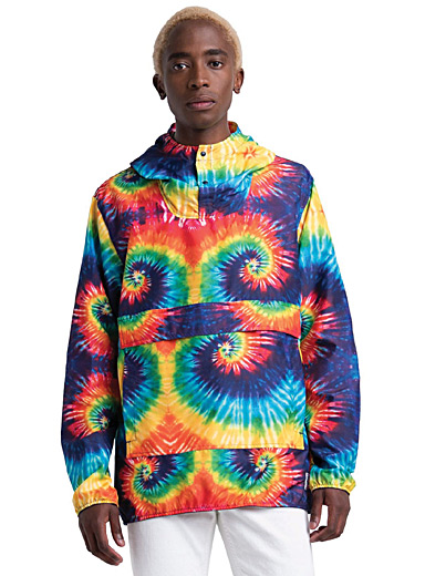 Herschel Assorted Tie-dye anorak for men