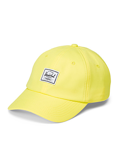 Herschel Bright Yellow Sylas baseball cap for men