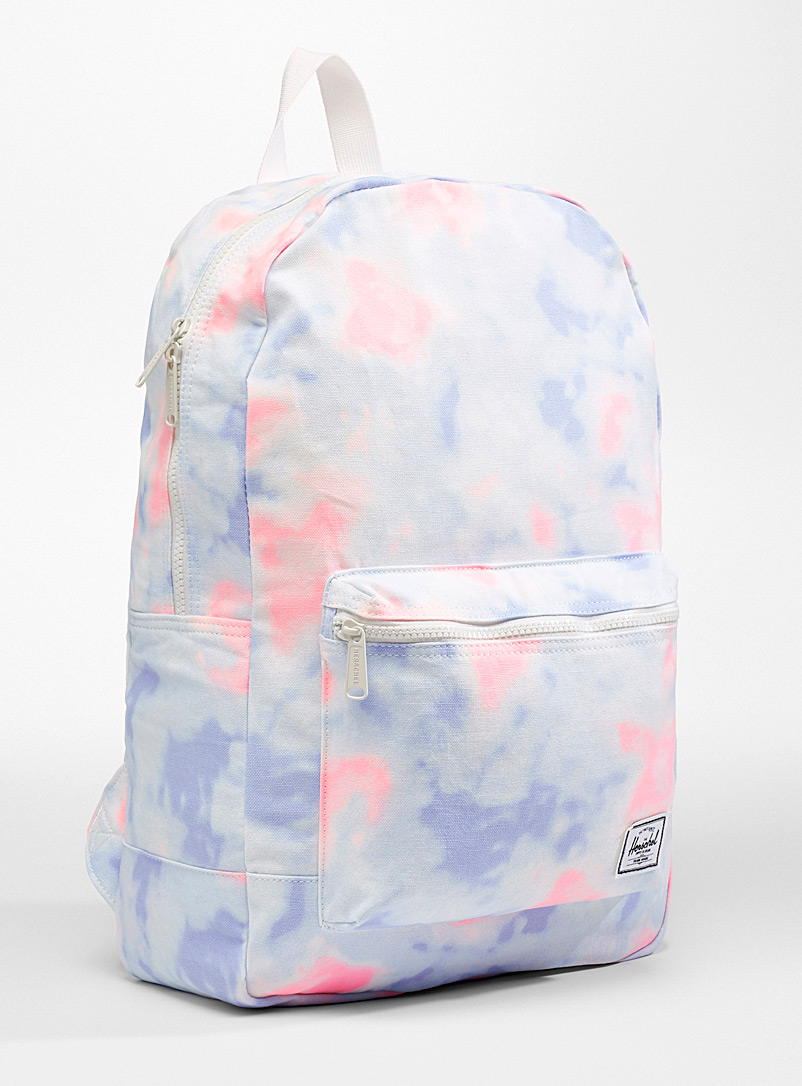 Herschel Patterned White Daypack packable backpack for women