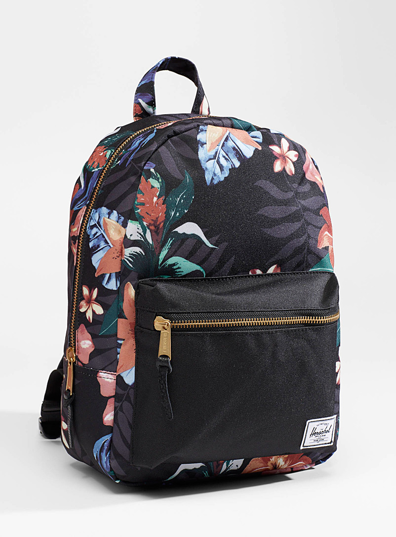 Herschel Patterned Yellow Hoffman XS Grove backpack for women