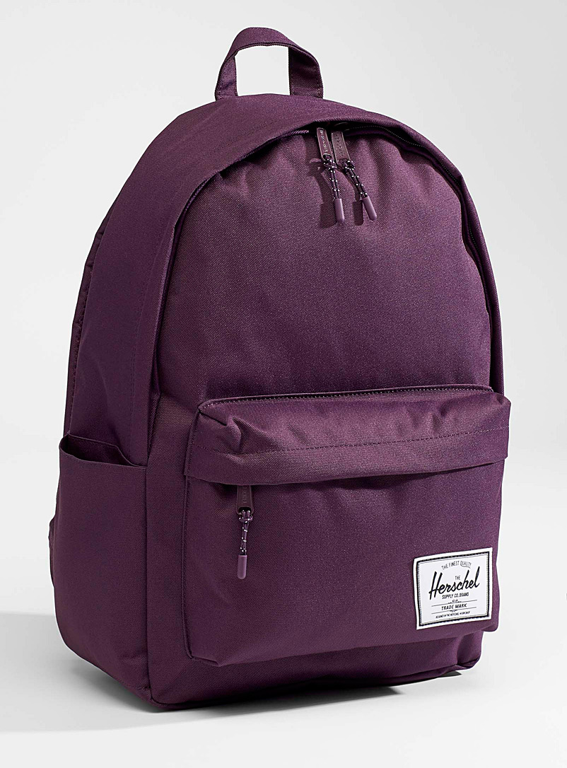Herschel Dark Crimson Classic XL backpack for women