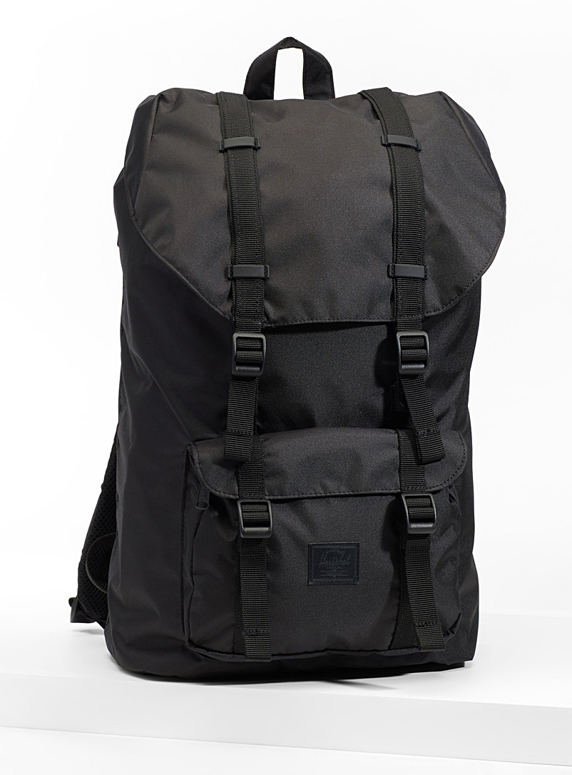 Little America light backpack - Backpacks - Black