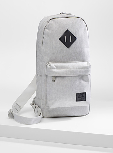 Herschel Light grey  Heritage shoulder bag for women