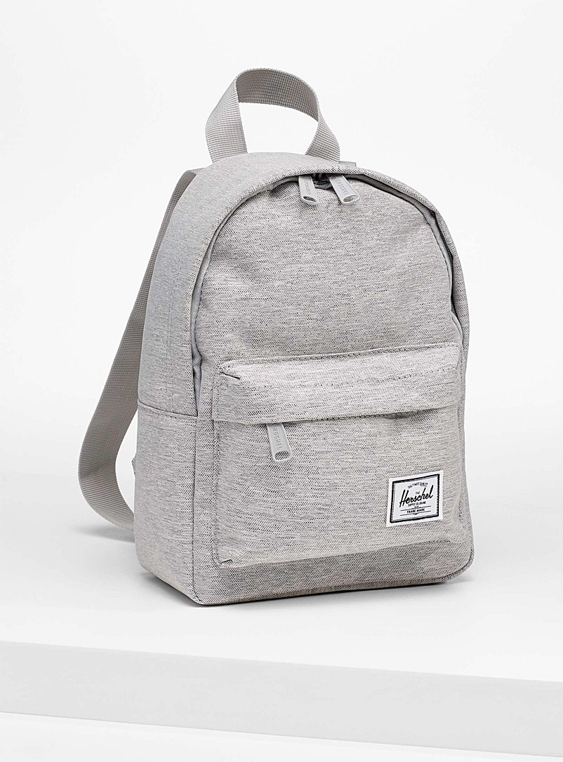 Herschel Grey Mini Classic backpack for women