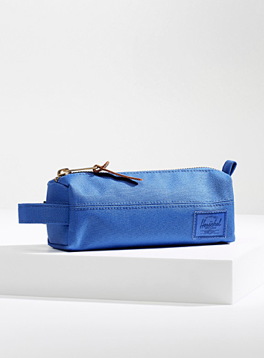 Herschel Sapphire Blue Settlement pencil case for women