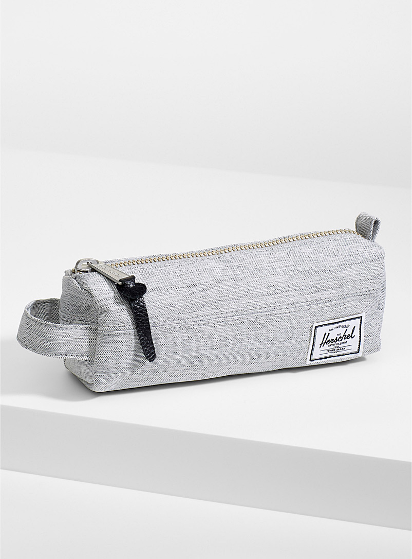 Herschel Black Settlement pencil case for women