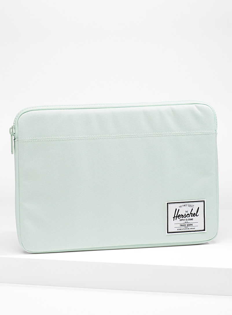 13&quote; Anchor laptop case - Assorted Extras - Light green