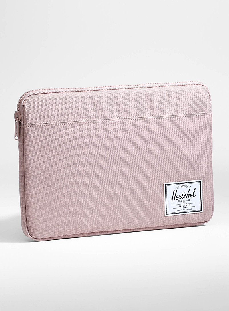 13&quote; Anchor laptop case - Assorted Extras - Dusky Pink