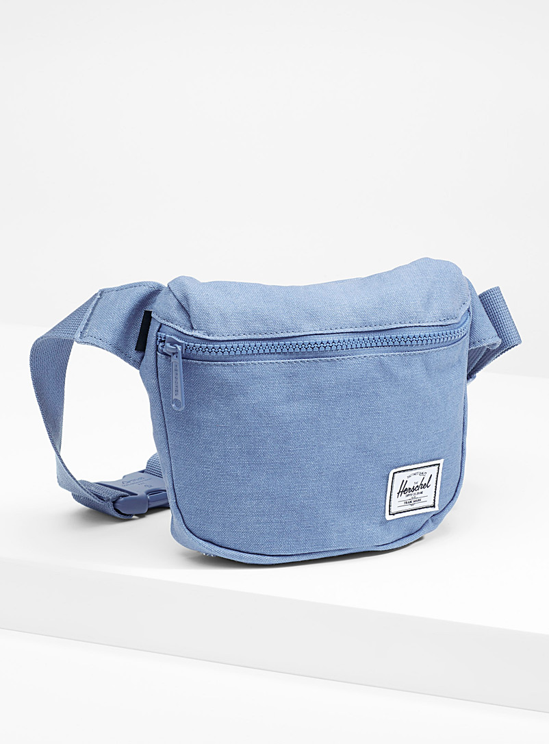 Fifteen solid belt bag - Belt Bags - Slate Blue
