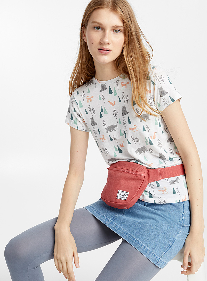 Fifteen solid belt bag - Belt Bags - Bright Red