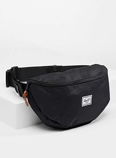Herschel Black Sixteen belt bag for women