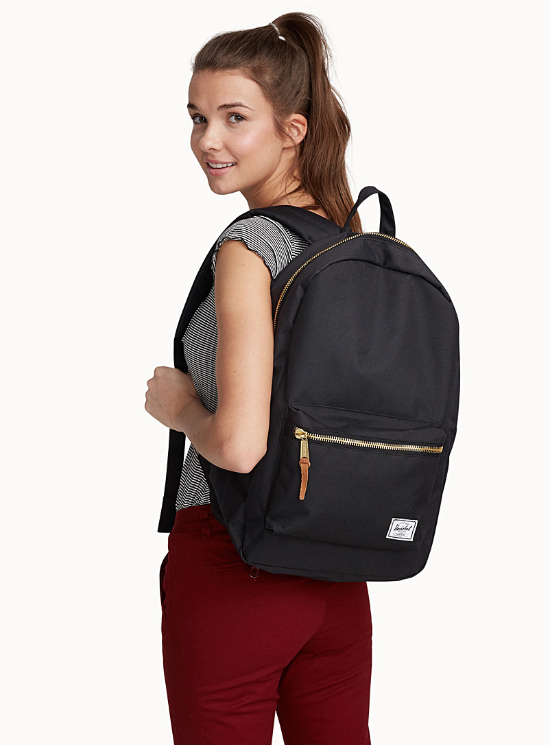 Settlement solid backpack - Backpacks - Black