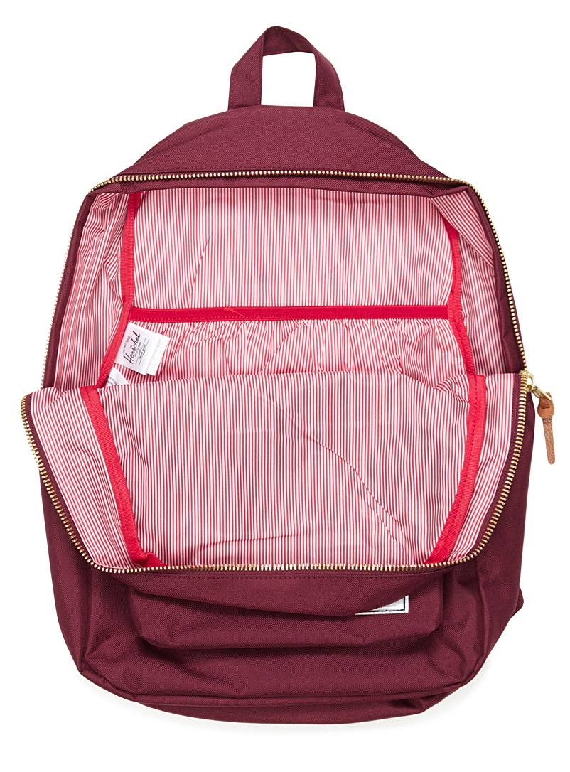 Settlement solid backpack - Backpacks - Ruby Red