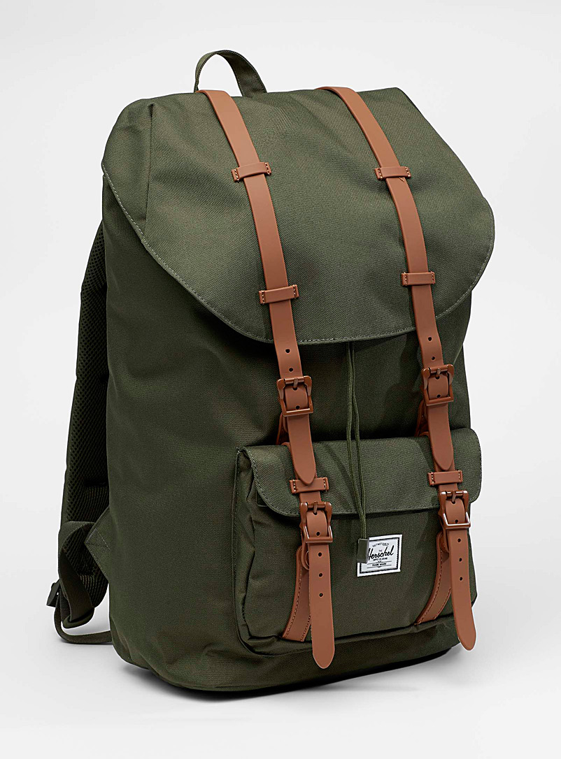 Little America backpack - Backpacks - Bottle Green