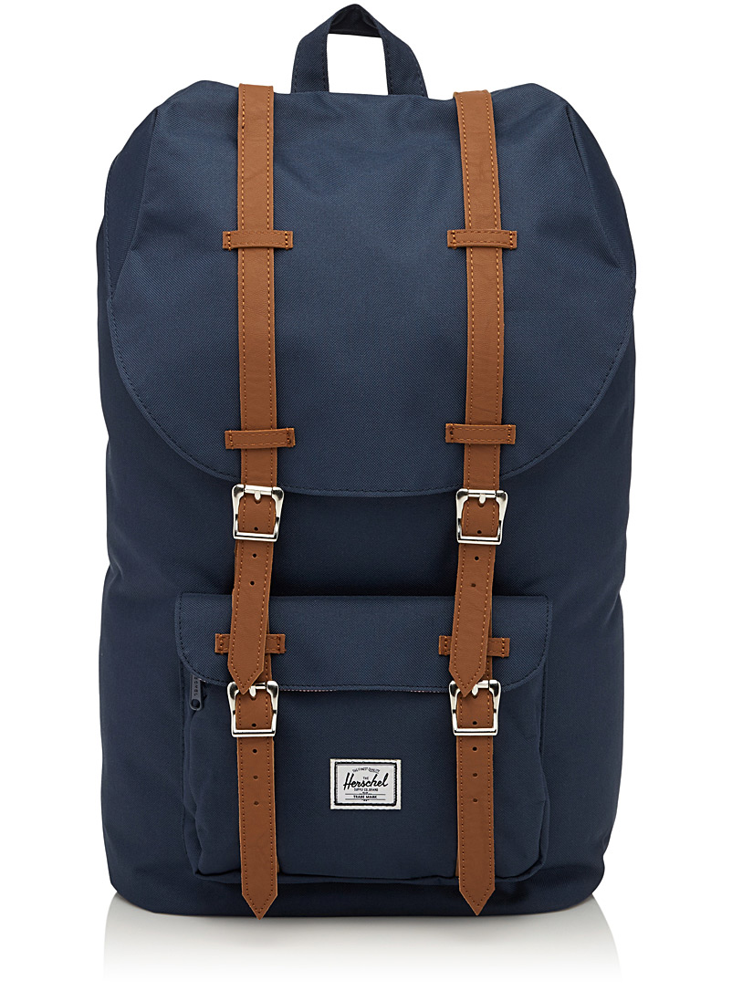 Little America backpack - Backpacks - Marine Blue
