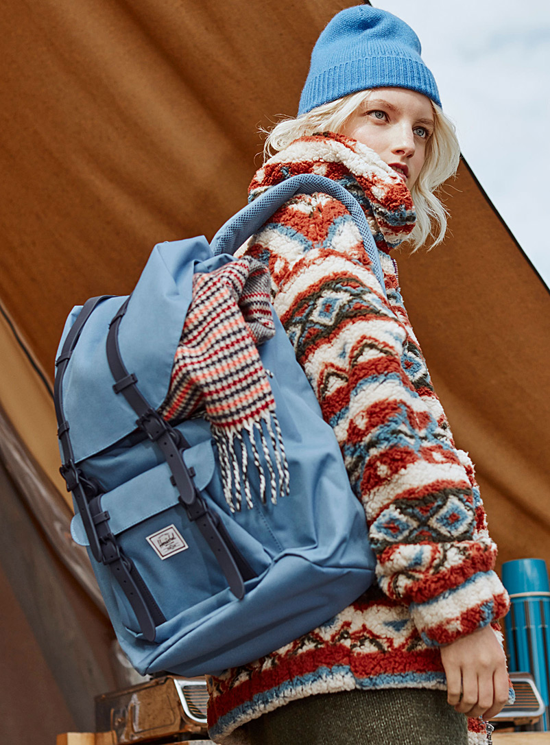 Little America backpack - Backpacks - Slate Blue