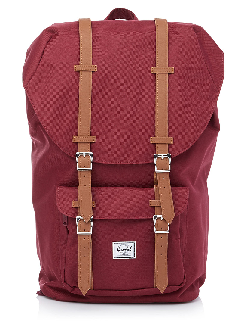 Little America backpack - Backpacks - Cherry Red