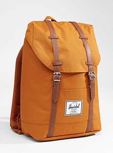 Herschel: Le sac à dos Retreat Orange pâle pour femme